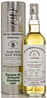Dufftown Scotch Single Malt 1997 Unchillfiltered Bottled...